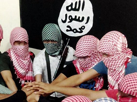 Isis has published propaganda images claiming to show militants in Bangladesh, which it calls its 'Bengal' province